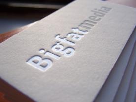 визитки тиснение фольгой