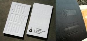 визитки блинтовое тиснение