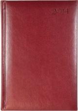 Ежедневник Sevilia бордовый