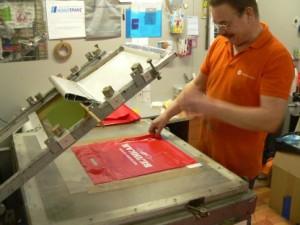печать на пакетах