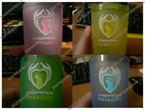 Тампопечать на стаканах