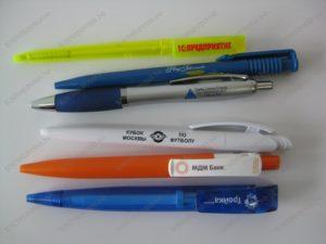 Нанесение тампопечати на ручки