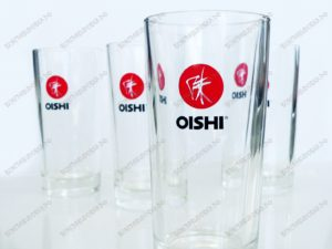 Тампопечать на стеклянных стаканах